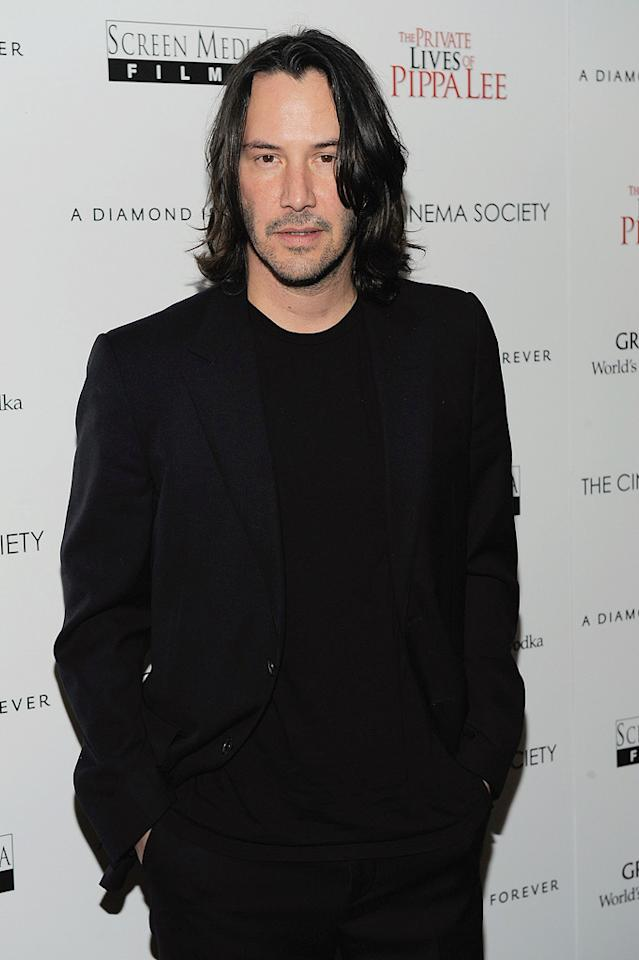 """<a href=""""http://movies.yahoo.com/movie/contributor/1800019596"""">Keanu Reeves</a> at the New York City Cinema Society screening of <a href=""""http://movies.yahoo.com/movie/1810025242/info"""">The Private Lives of Pippa Lee</a> - 11/15/2009"""