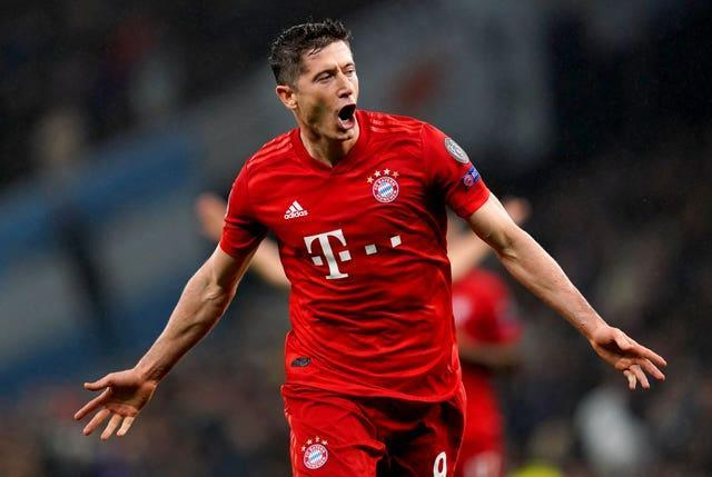 Lewandowski is enjoying another fine season in front of goal for both club and country.