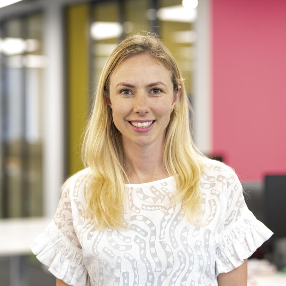 Sharesies CEO Brooke Roberts. (Image: Supplied).