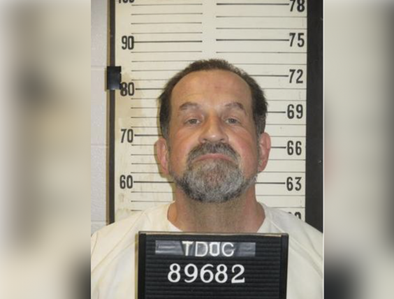 Nicholas Sutton was refused his final appeal to serve life in prison. The prisoner will die by electric chair on Thursday (Tennessee Corrections Department)