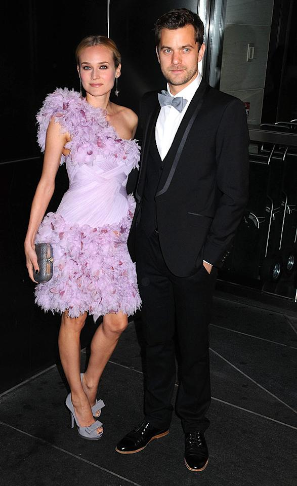 "Hollywood's hottest couple Diane Kruger and Joshua Jackson arrived in style at the 6th Annual New Yorkers For Children Spring Dinner Dance at the Mandarin Oriental Hotel. Johns PkI/<a href=""http://www.splashnewsonline.com"" target=""new"">Splash News</a> - April 15, 2009"