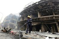 Iraq PM sacks Baghdad security chiefs after deadly blast
