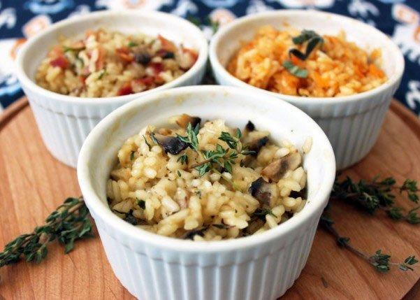 "<p>Risotto, while delicious, can be a pain in the butt to prepare. This hack makes it in 10 minutes—and there are three options for mix-ins (plus, did you know <a href=""https://www.shape.com/healthy-eating/diet-tips/research-suggests-eating-pasta-could-help-lose-weight"" target=""_blank"">eating pasta could help you *lose* weight</a>?).</p> <p><strong>Get the recipe:</strong> <a href=""https://www.brit.co/microwave-risotto/"" target=""_blank"">10-Minute Risotto Cups</a></p>"