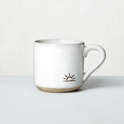 <p>Brighten up gloomy mornings with this <span>Hearth &amp; Hand With Magnolia Sunrise Stoneware Mug</span> ($5).</p>
