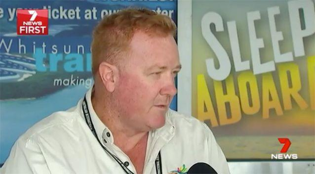 Airport Manager Tony Schulz said he couldn't believe it happened. Photo: 7 News