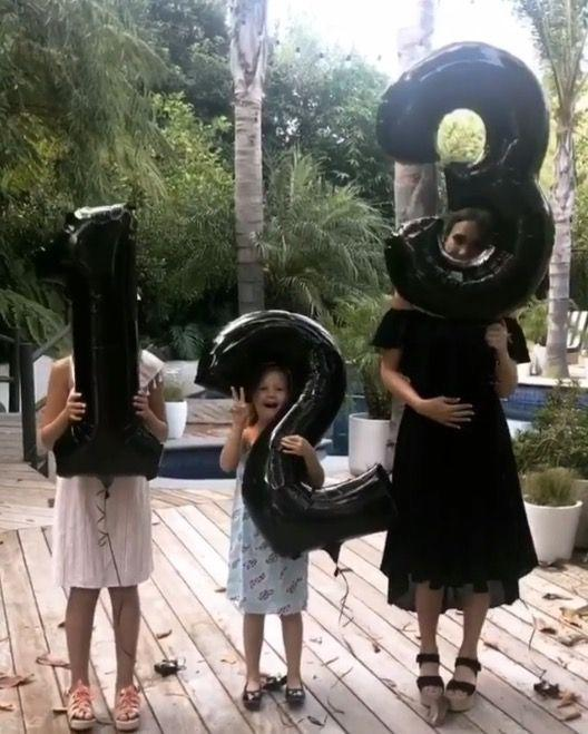 "<p>Actress and businesswoman Jessica Alba announced her third pregnancy with husband Cash Warren with an adorable boomerang on Instagram. The 36 year-old already has two girls, 9-year-old Honor Marie and 5-year-old Haven Garner, though she is adding a third to her brood. </p><p>She captioned her photo, '<a class=""link rapid-noclick-resp"" href=""https://www.instagram.com/cash_warren/"" rel=""nofollow noopener"" target=""_blank"" data-ylk=""slk:@cash_warren"">@cash_warren</a> and I are officially going to be outnumbered <a href=""https://www.instagram.com/explore/tags/babyonboard/"" rel=""nofollow noopener"" target=""_blank"" data-ylk=""slk:#babyonboard"" class=""link rapid-noclick-resp"">#babyonboard</a><a href=""https://www.instagram.com/explore/tags/herewegoagain/"" rel=""nofollow noopener"" target=""_blank"" data-ylk=""slk:#herewegoagain"" class=""link rapid-noclick-resp"">#herewegoagain</a> 👶🏼🤰🏽<a href=""https://www.instagram.com/explore/tags/blessed%F0%9F%99%8F/"" rel=""nofollow noopener"" target=""_blank"" data-ylk=""slk:#blessed🙏"" class=""link rapid-noclick-resp"">#blessed🙏</a>'</p>"