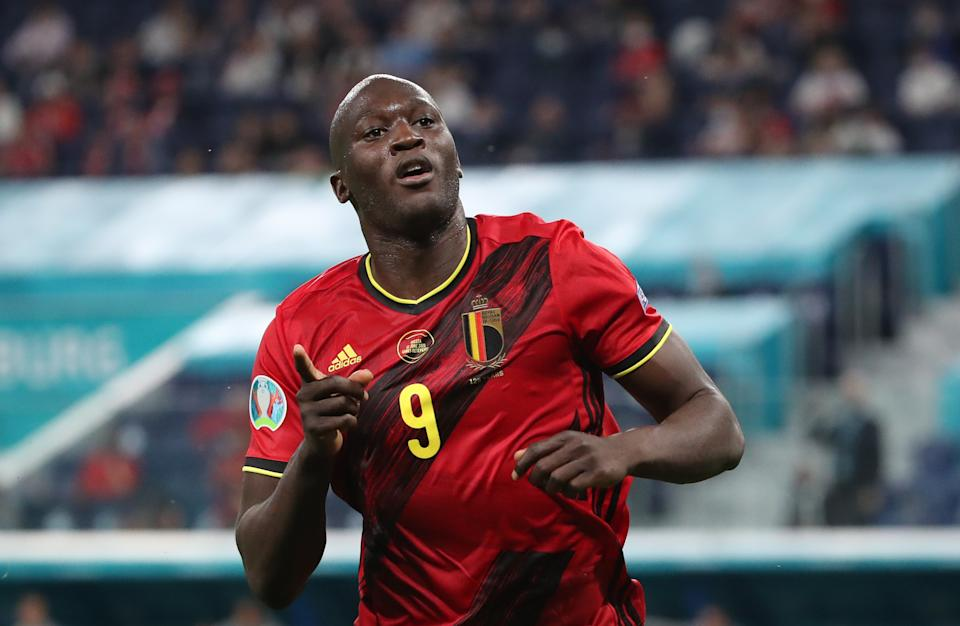 Romelu Lukaku's fantastic start to the Euros has been more about his intelligence and skill than his strength and speed, which have often been lazily deployed as defining attributes of Black players. (Photo by Vincent Van Doornick/Isosport/MB Media/Getty Images)