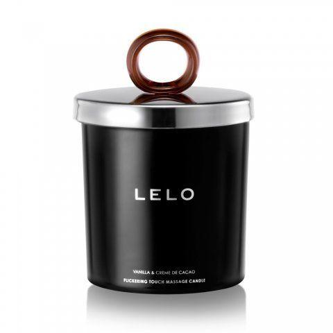 """This <a href=""""https://www.lelo.com/flickering-touch-massage-candle"""" rel=""""nofollow noopener"""" target=""""_blank"""" data-ylk=""""slk:aromatic candle gently melts"""" class=""""link rapid-noclick-resp"""">aromatic candle gently melts</a> into a pool of soft and sensual massage oil. It's made from soy wax, shea butter and apricot kernel oil, and comes in three scents: vanilla and creme de cacao, snow pear and cedar wood and black pepper and pomegranate.&nbsp;<strong><a href=""""https://www.lelo.com/flickering-touch-massage-candle"""" rel=""""nofollow noopener"""" target=""""_blank"""" data-ylk=""""slk:Get this Flickering Touch Massage Candle from LELO"""" class=""""link rapid-noclick-resp"""">Get this Flickering Touch Massage Candle from LELO</a></strong>.&nbsp;"""
