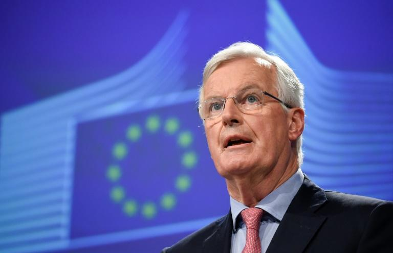 The EU's chief negotiator Michel Barnier had said it was now up to May and British MPs to find a compromise