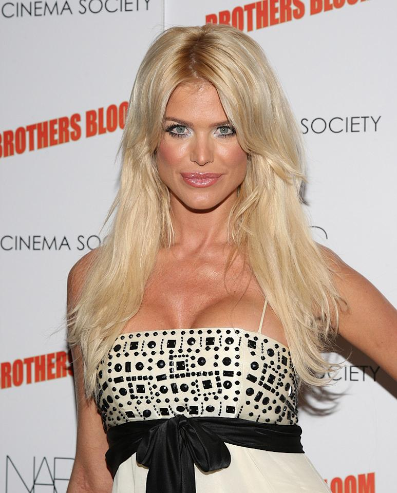 """Victoria Silvtedt at the New York screening of <a href=""""http://movies.yahoo.com/movie/1809843292/info"""">The Brothers Bloom</a> - 05/07/2009"""