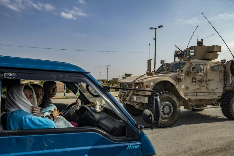 Civilians have fled the countryside around Ras al-Ain as US forces pull out of northern Syria (AFP Photo/Delil SOULEIMAN)