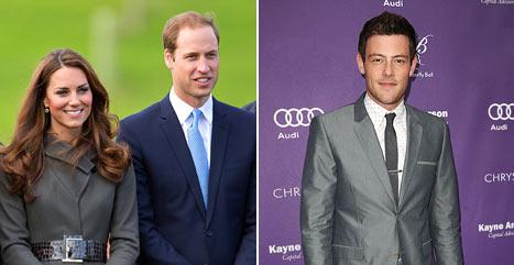 """Kate Middleton, Prince William Are """"A Very Strong Team,"""" Ryan Murphy Opens Up About Cory Monteith, Future of Glee"""