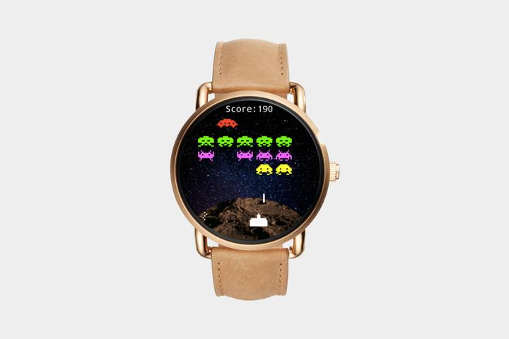 Invaders app for Android Wear
