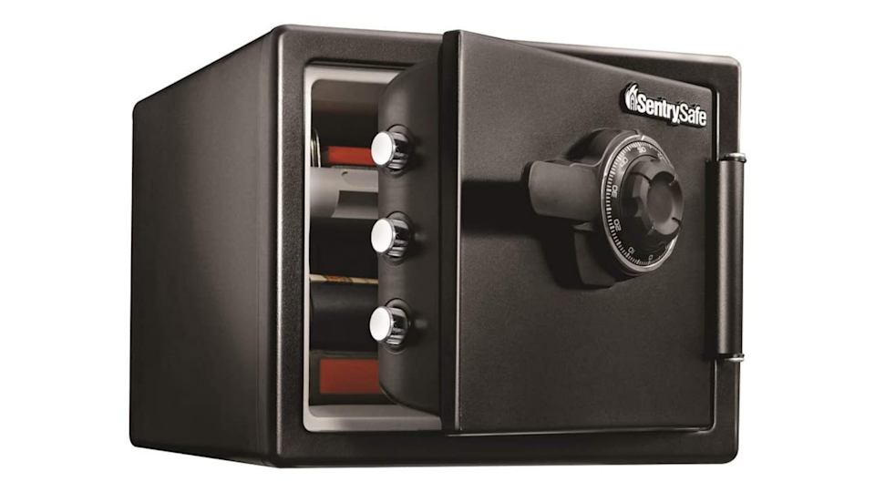 Secure your valuables in an emergency situation with a fireproof, waterproof safe.