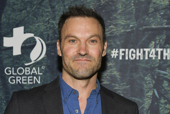 Brian Austin Green's first public romance since news of split from wife Megan Fox is long over, but still haunting him. (Photo: Rodin Eckenroth/Getty Images)