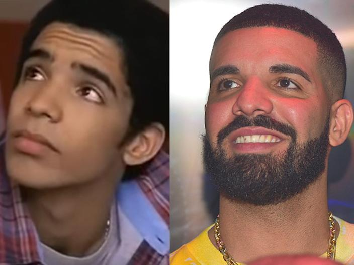 """Drake on """"Degrassi: The Next Generation"""" and in May 2018."""
