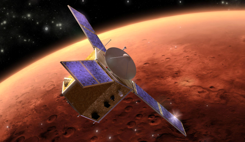 The United Arab Emirates says it's on track to go to Mars within three years