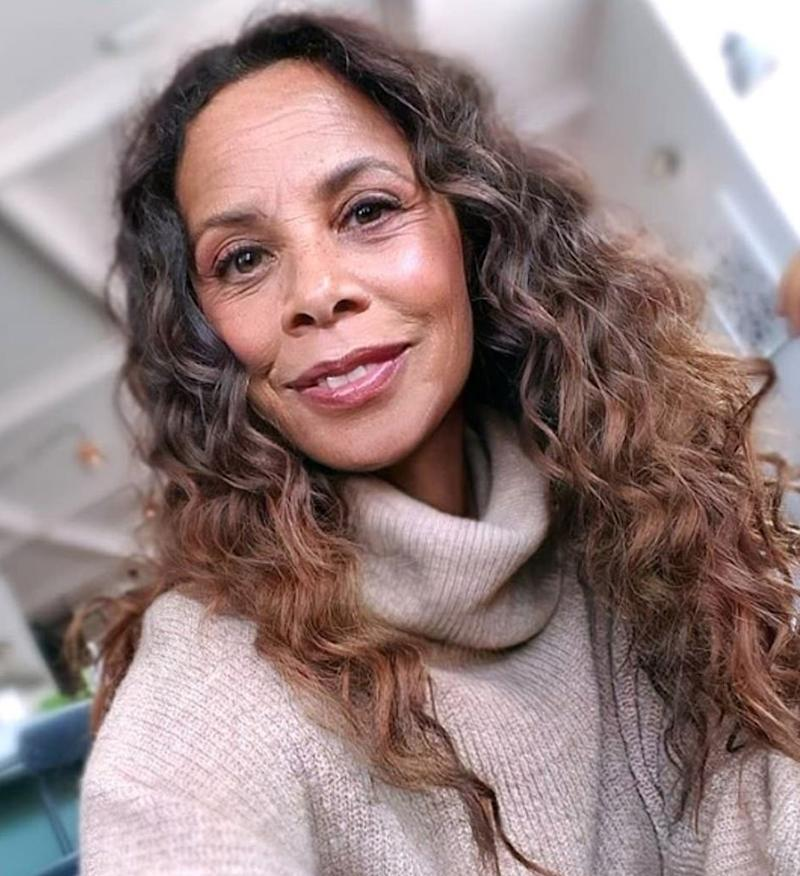 Rochelle Humes on FaceApp (Instagram/Rochelle Humes)