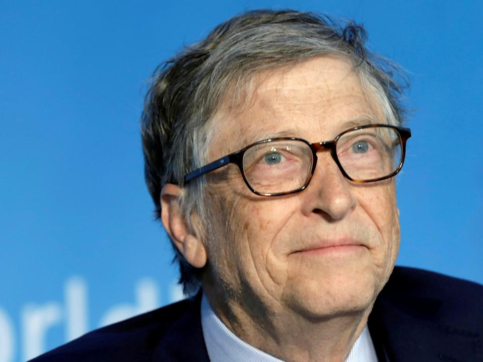 Bill Gates, pictured in 2018, is releasing a book on the climate crisis (REUTERS)