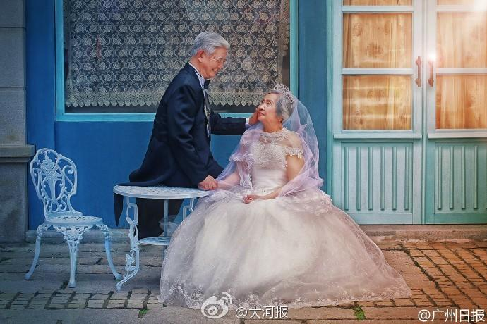 This Old Chinese Couple Had A Disney Wedding Photoshoot And We ...