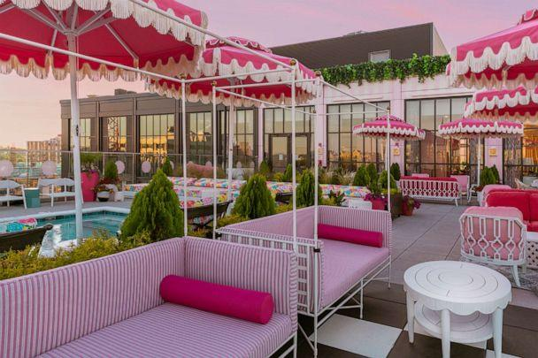 PHOTO: White Limozeen is the rooftop bar and restaurant located at the Graduate Nashville hotel. (Digital Love )