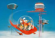 <p>The Jetsons truly were a futuristic family. The first season of the popular animated series premiered on September 23, 1964. The show's second and third seasons didn't air on TV until 1985 and 1987. </p>