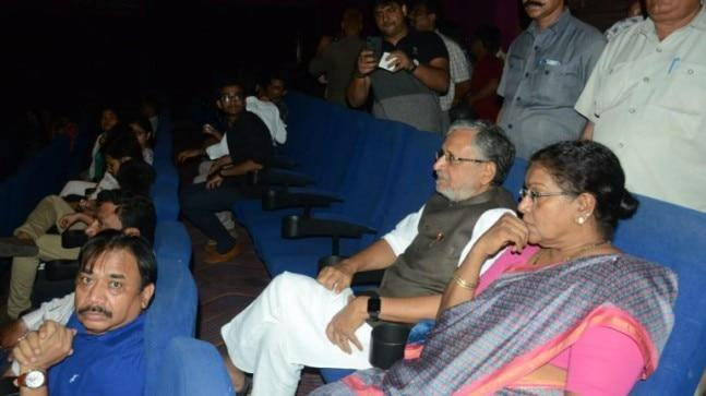 In a statement, Sushil Modi said that he had been abused for watching the movie and that an English channel also mocked him for the same.