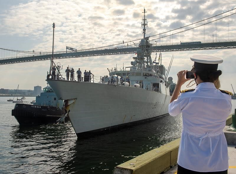HMCS Fredericton returns after six-month mission marked by tragic helicopter crash