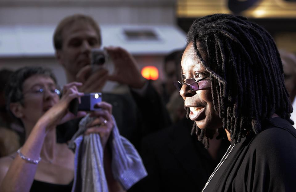 Whoopi Goldberg is one of several celebrities to have spoken up [Photo: PA]