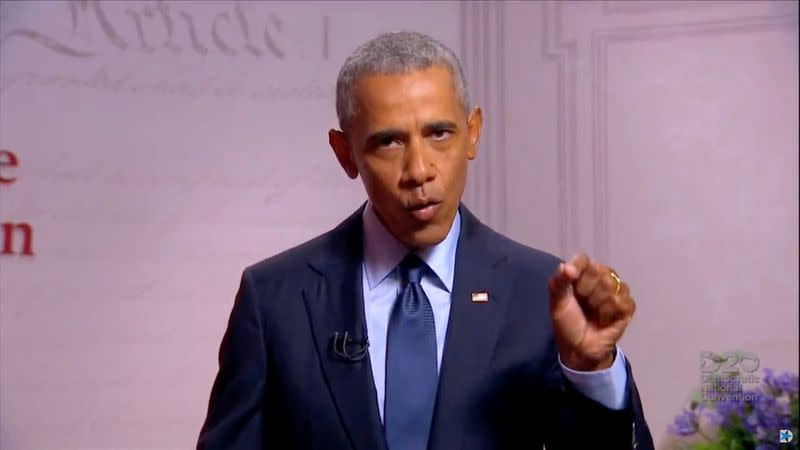 Obama slams Trump as unfit, says U.S. democracy is at risk