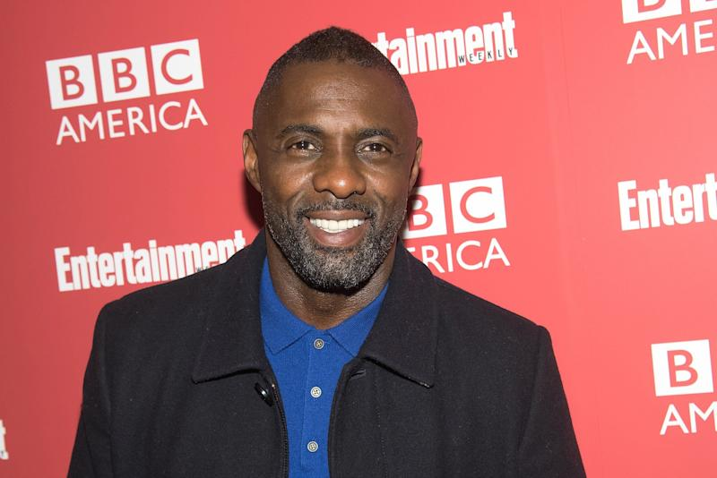 Elba is promoting the fifth series of Luther in the US ahead of its release on BBC American (Credit: Mike Pont/WireImage)