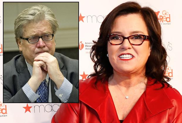Rosie O'Donnell offers to play Trump's strategist Steve Bannon on SNL