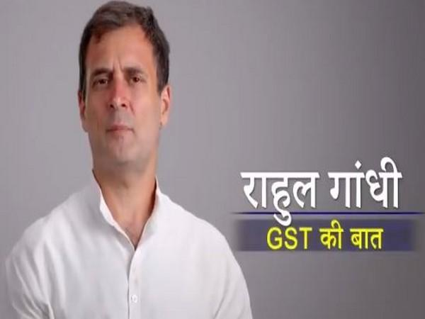 A still from the video posted by Rahul Gandhi. (Picture source: Twitter/Rahul Gandhi)