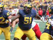 A 1st-Round Selection For Ruiz Would Mark Significant Feat For U-M's O-Line