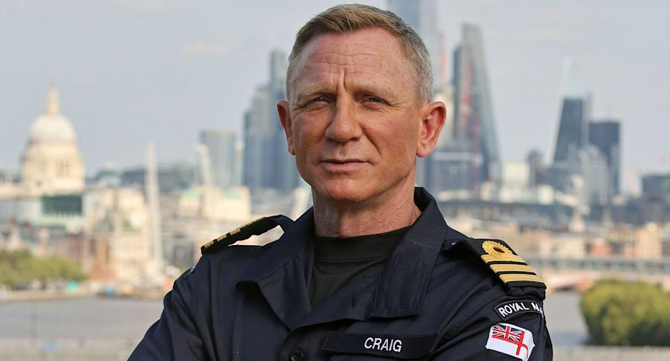 Daniel Craig has now reached the rank of the fictional James Bond (Royal Navy)