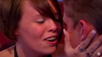 <p>Okay, a few things here: 1) CUTE, and 2) The definition of goals is not giving one single f*ck that the rubber bands on your braces are showing during your televised proposal.</p>