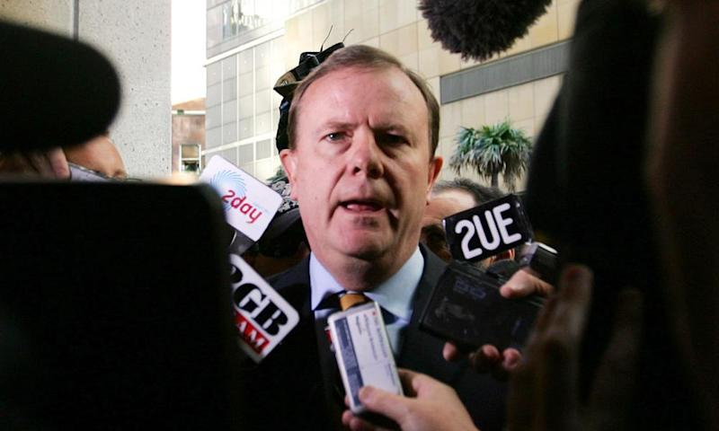 Peter Costello as treasurer in 2006