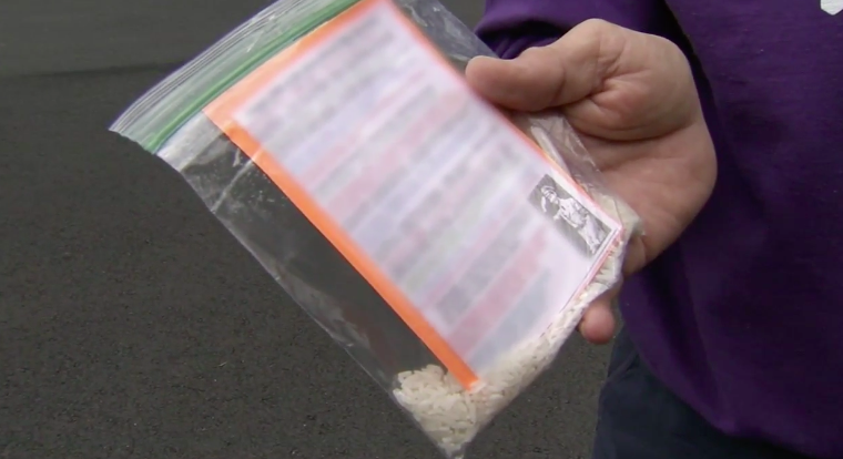 Residents in Cherry Hill, N.J., are receiving fliers with hate speech on their driveways. (Photo: WPVI)