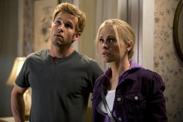 There's no telling what Jason Stackhouse (Ryan Kwanten) and his sister Sookie Stackhouse (Anna Paquin) are looking at inside their grandma's house. The home has seen its fair share of shady, supernatural, and scary characters, from lust-inspiring Maryann the maenad and ghost parents to jealous werewolves and vampire lovers.