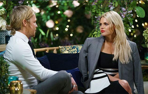 Sophie chats to Sam on the show. Source: Network Ten
