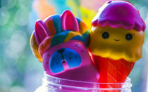 <p>From 'bearmojis' to 'pugerflys', there are hundreds of Squishies for children to collect and they're sure to prove a stocking filler hit. <em>[Photo: Getty]</em> </p>