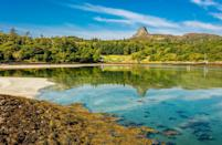 """<p>Although tiny Eigg is only home to 90 people, its community is also made up of marine animals and birdlife, including gorgeous Atlantic seals, minke whales, dolphins, porpoises and a variety of seabirds. </p><p>On Eigg you can climb Britain's largest pitchstone ridge, watch eagles fly over dreamy white sand beaches and learn about the world's first renewably powered electricity grid, plus it's just a short sail to the town of Inverie in Loch Nevis, where you can have a drink at the most remote pub in the British Isles. </p><p><strong>Visit Eigg on a luxury cruise with Good Housekeeping.</strong></p><p><a class=""""link rapid-noclick-resp"""" href=""""https://www.goodhousekeepingholidays.com/tours/scottish-highlands-islands-luxury-yacht-spring-cruise"""" rel=""""nofollow noopener"""" target=""""_blank"""" data-ylk=""""slk:FIND OUT MORE"""">FIND OUT MORE</a></p>"""
