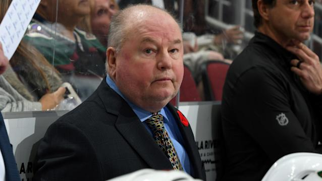 Bruce Boudreau provided a candid account of his firing from the Minnesota Wild. (Norm Hall/NHLI via Getty Images)