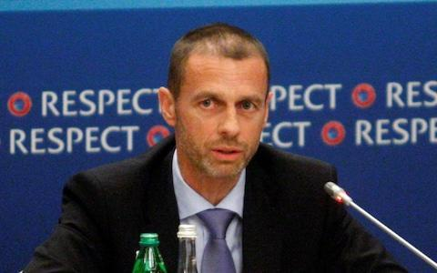<span>Uefa president Aleksander Ceferin disagrees with Buck</span> <span>Credit: Getty Images </span>