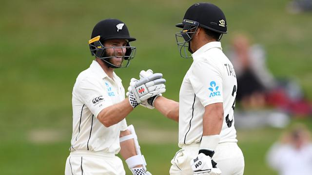 Centuries from Kane Williamson and Ross Taylor helped New Zealand draw the second Test with England.