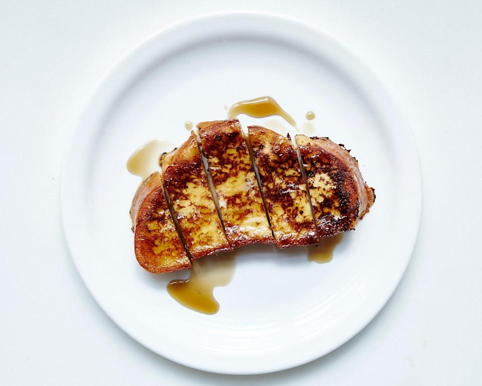 """<a href=""""https://www.bonappetit.com/recipe/classic-french-toast?mbid=synd_yahoo_rss"""" rel=""""nofollow noopener"""" target=""""_blank"""" data-ylk=""""slk:See recipe."""" class=""""link rapid-noclick-resp"""">See recipe.</a>"""