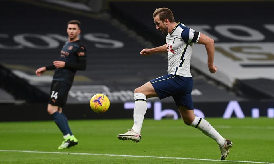 Harry Kane excelled in a deep playmaking role.
