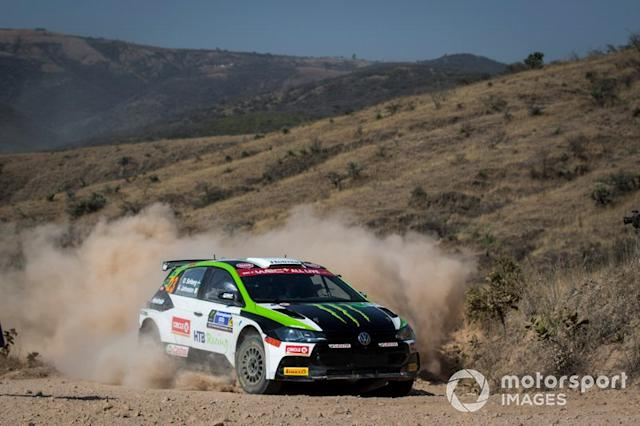"Oliver Solberg, Aaron Johnston, Volkswagen Polo R5 <span class=""copyright"">McKlein / Motorsport Images</span>"
