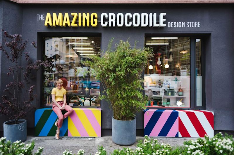 You can now shop from Berlin boutiques, like The Amazing Crocodile Design Store, from Trouva (Trouva)