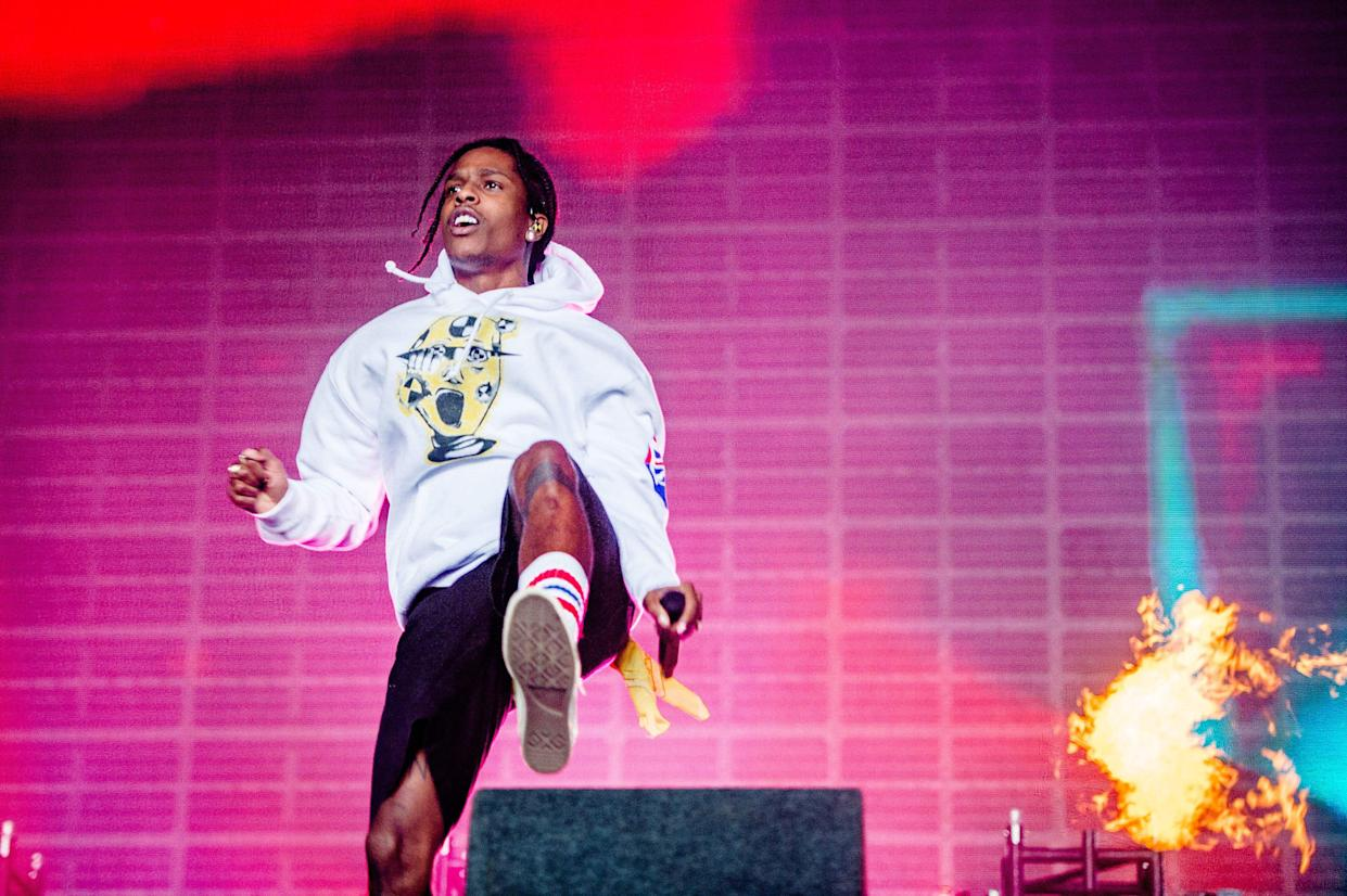 A$AP Rocky performs at a music festival in the Netherlands on Aug. 18. (Photo: Ferdy Damman/AFP/Getty Images)